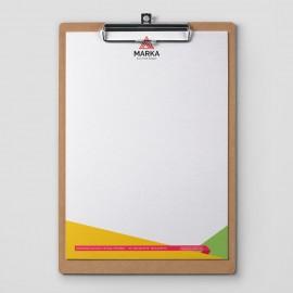Antetli Kağıt Tasarımı