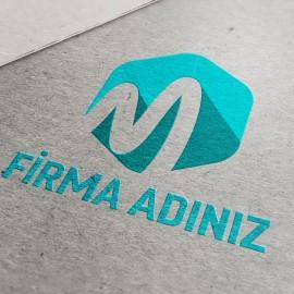 Hazır Tasarım Kurumsal M Logo