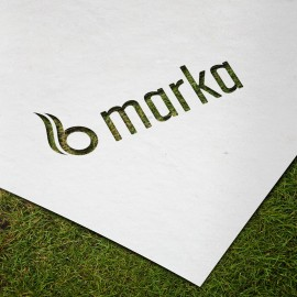 Hazır Tasarım Kurumsal Dalgalı B Logo
