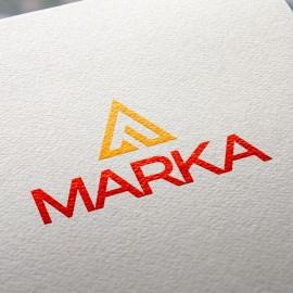 Hazır Tasarım Kurumsal Üçgen A Logo