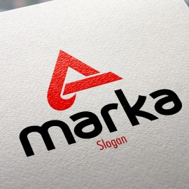 A Harfi Logo Tasarımı