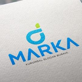 D Harfi Hazır Logo Tasarımı