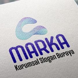 A Harfi Hazır Logo Tasarımı