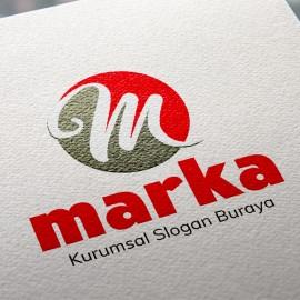 M Harfli Logo Tasarımı