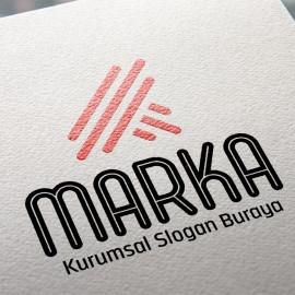 Geometrik K Harfli Logo Tasarımı