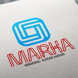 Geometrik O Harfli Logo Tasarımı