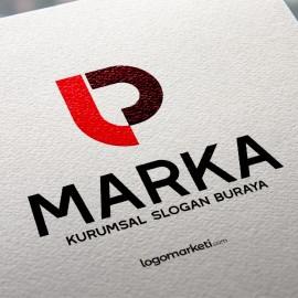 LP Harfleri Hazır Logo Tasarımı