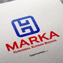 H Harfi Logo Tasarımı