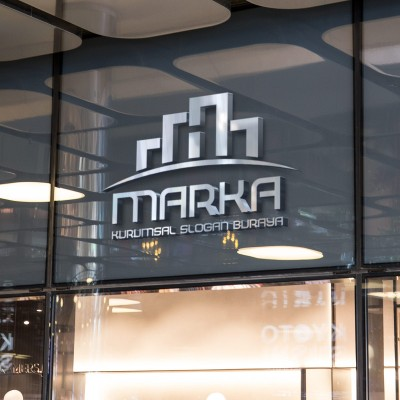 İnşaat Konut ve Emlak Logo Tasarımı
