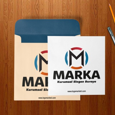 OM Harfleri Logo Tasarımı